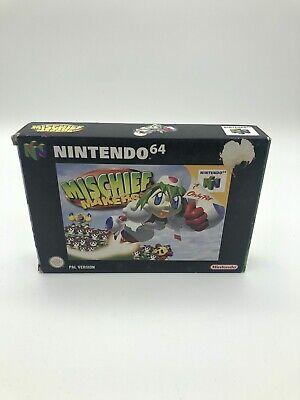 Mischief Makers für Nintendo 64 N64 - in OVP mit Anleitung - PAL VERSION