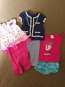 Baby girls size 00 summer clothes Springfield Lakes Ipswich City Preview