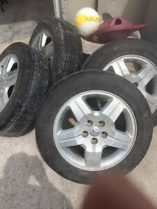 Dodge wheels and tires for sale
