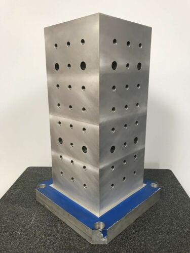 "Workholding Rectangular Aluminum Column Tombstone Fixture - 20"" x 8"" x 8"""