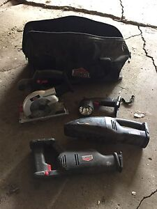 Bag of power tools