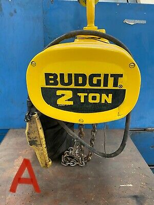 Budgit 2 Ton 4000 Lbs. Electric Chain Hoist