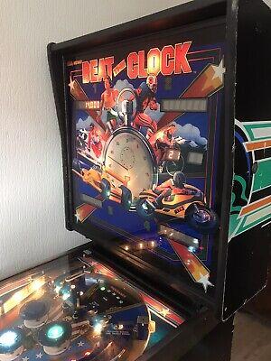 PINBALL MACHINEBally Beat The Clock 4 Player, Rare only 500 produced.