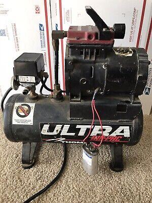 Thomas Ultra Air Pac Air Compressor T-617hd-j. 2 Gal 115v 3.7a