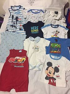 Lot of baby boy clothes 0-12 months