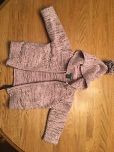 Roots baby sweater