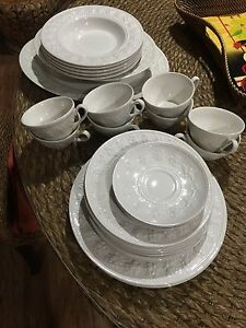 White Wedgwood Home dinner set Durack Palmerston Area Preview