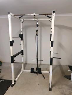 Sqaut rack fid bench gym equipment