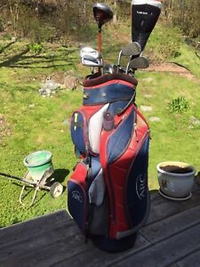Beautiful Golf Clubs and Bag