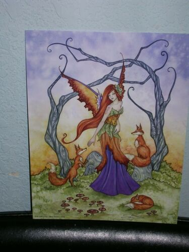 Amy Brown - Fox Gathering - SIGNED