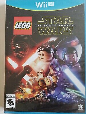 🔥LEGO Star Wars: The Force Awakens Nintendo Wii U, 2016) NEW SEALED SHIPS TODAY