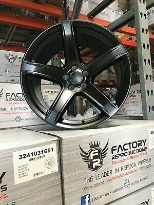"Fits 20"" x 11"" HC2 Satin Black AZ850 2 Wheels Tires Rims Rear Challenger Charger"
