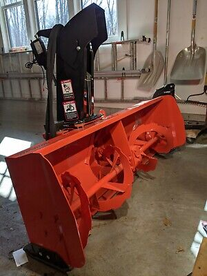 Kubota B2782b 63 2 Stage Commercial Snow Blower B2714c Male Quick Hitch