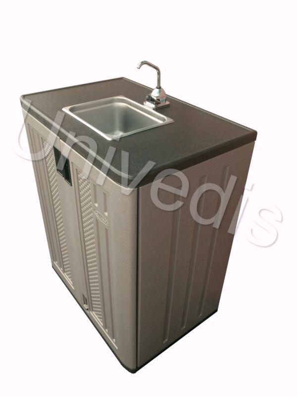 Portable sink mobile hand pump no electricity needed Original UNIVEDIS