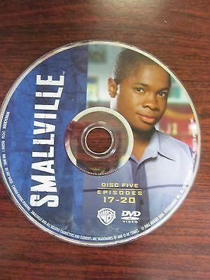 Smallville Season 2 -  Disc 5 Only -  Replacement Disc DVD