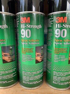 3m 90 Spray Adhesive High Strength 6 Pack.