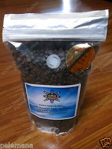 1lb 100 kona coffee whole bean extra fancy not dark roast. Black Bedroom Furniture Sets. Home Design Ideas