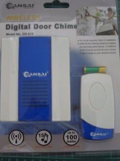 Sansai Wireless Digital Door Chime Up To 100 Meter #DB-918