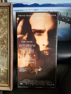 Interview with The Vampire movie wall hanging