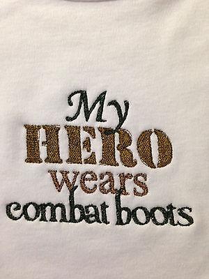 Wears Combat Boots