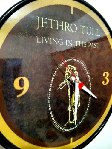 JETHRO TULL - LIVIN IN THE PAST -12 INCH WALL CLOCK - IAN ANDERSON FREE PRIORITY