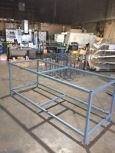 Heavy duty steel work bench frame !