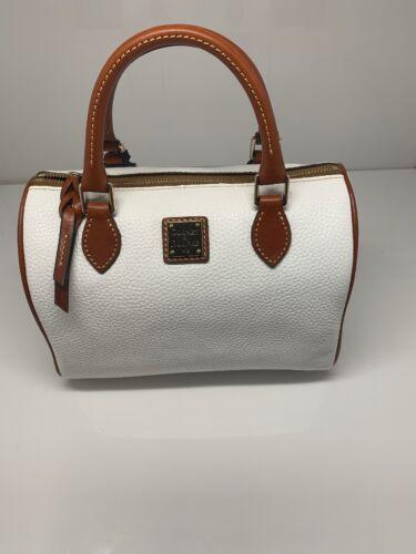 Dooney & Bourke Trudy Pebble Grain Top Zip Satchel Handbag W