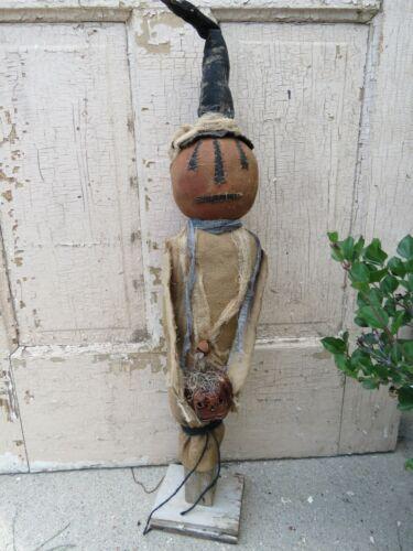 Primitive Gourdy Pumpkin Doll