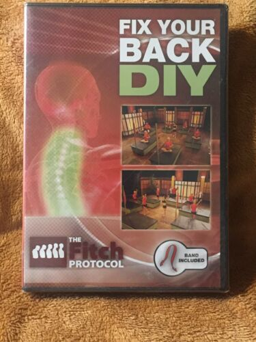 DVD Fix Your Back DIY With Exercise Strap
