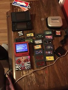 Retro game boy and DS