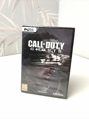 Call Of Duty Ghosts FreeFall Limited Edition PC DVD Sealed