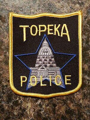 Topeka Kansas Police patch - (capital city)
