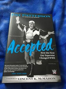 "WWE Book- ""Accepted"" By Pat Patterson"