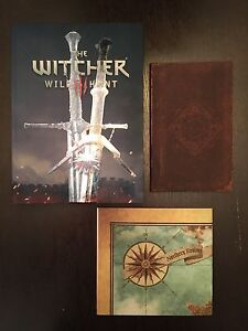 WITCHER 3: WILD HUNT COLLECTORS EDITION GAME GUIDE.