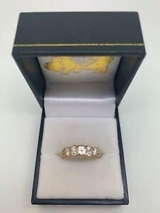 LADIES 18CT ROSE GOLD DIAMOND RING WITH VALUATION #216091 Morayfield Caboolture Area Preview