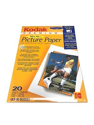 KODAK Picture Paper 20 Sheets 4