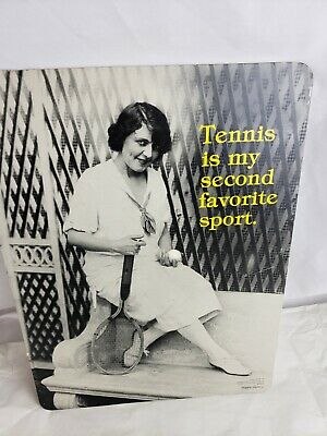 Tennis themed poster, rare,