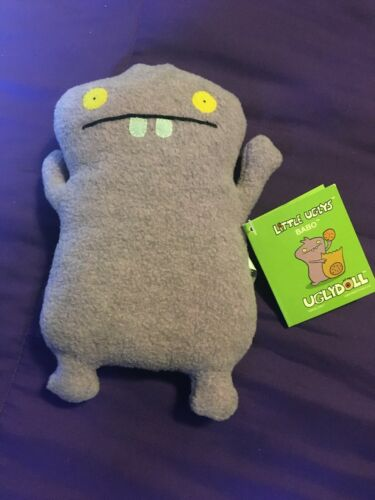 UGLYDOLL purple BABO *NEW* Little Uglys 2005  with TAGS