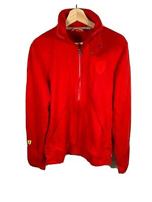 Ferrari Jacket Authentic Puma Ferrari Men Full Zip Track Jacket Red Size Medium