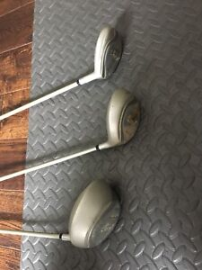 Golf Edison Quest driver, 3 wood and 4 hybrid ladies