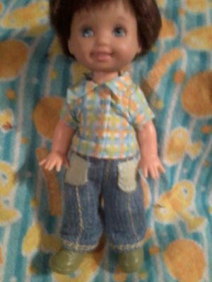 Barbie HAPPY FAMILY baby RYAN Tommy Plaid SHIRT Blue Jeans PANTS SHOES clothes