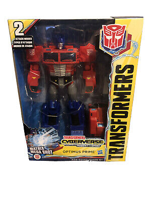 Transformers Cyberverse Action Attackers Ultimate Class Optimus Prime Figure