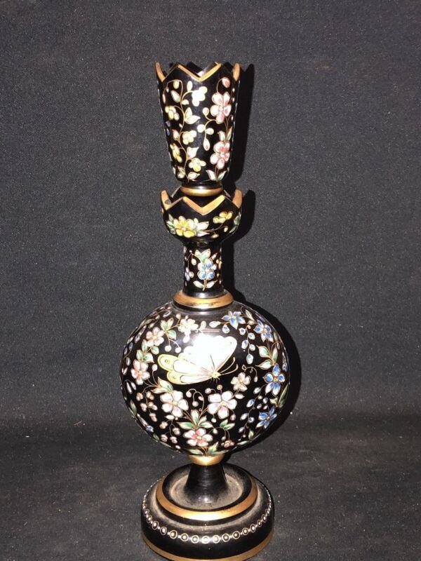 Moser Art Glass Bottle