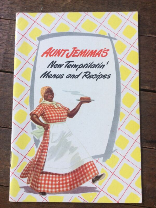 Vintage AUNTJEMIMA 1948 - Pancake Recipe & Menus Book - 18 Pg Booklet Rare Nice