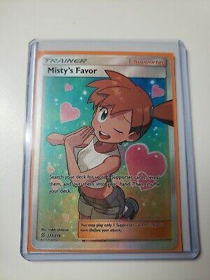 Misty's Favor Full Art Trainer Unified Minds 235/236 ~ Mint Pack Fresh