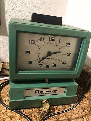 Croprint 125nr4 Time Recorder Machine