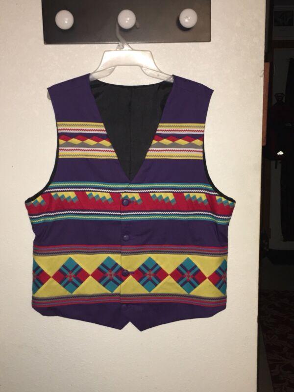 Seminole Patchwork Vest
