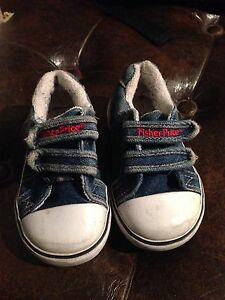 Fisher Price jean shoes