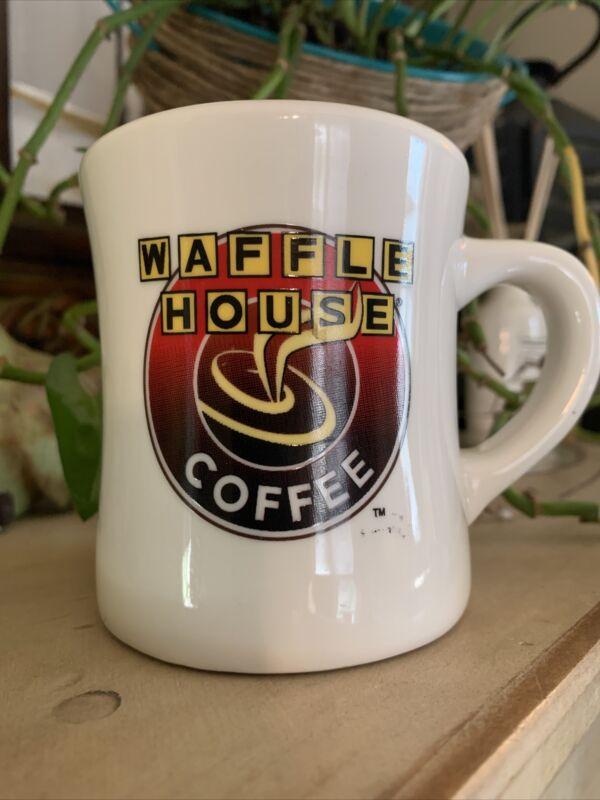 Vintage WAFFLE HOUSE COFFEE CUP MUG Heavy Ceramic TUXTON