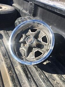 Olds rally wheels